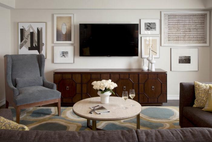 JW Marriott Essex House - living room